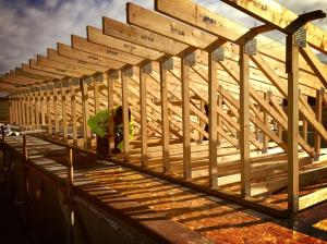 Roof Trusses ReSource Efficient House