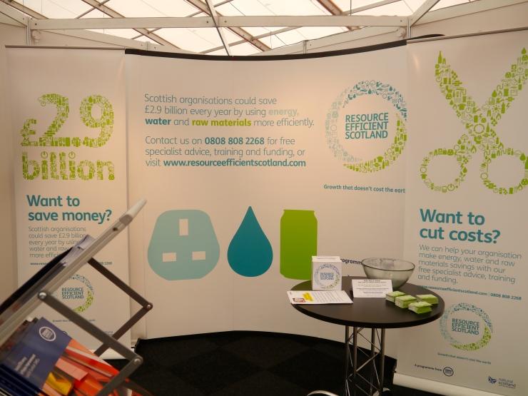 Ressource Efficient Scotland at All Energy Aberdeen 2013