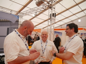 Tigh Grian and Solmatix at the All energy Exhibition in May 2013