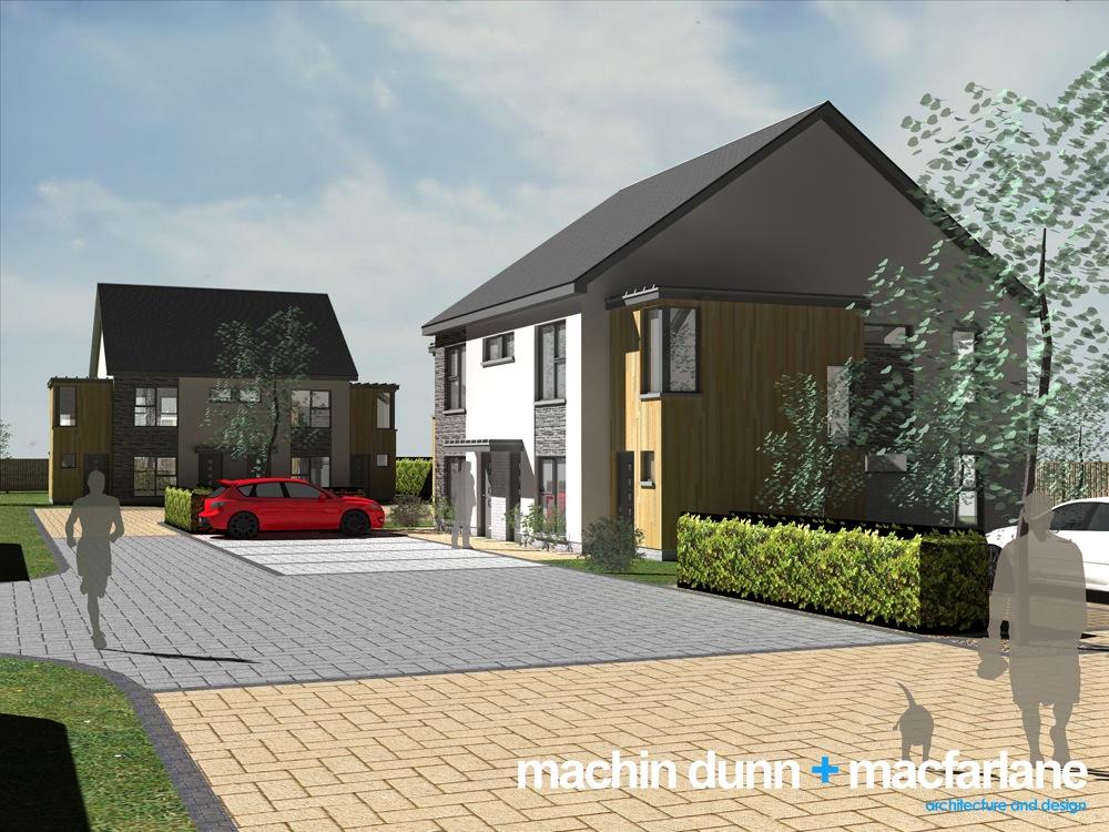 Subject to Planning consent: Alva project design by Machin Dunn Macfarlane (2/3)