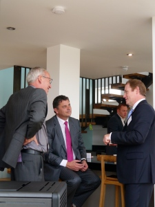 Robert Cowie, Alan Johnston and Rufus Logan