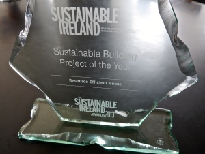the Sustainable Ireland Award in all its splendour