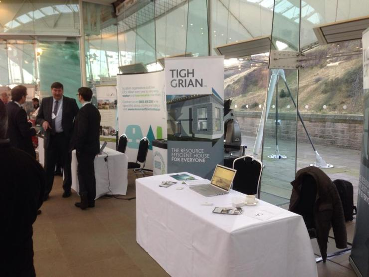 Tigh Grian stand at Low Carbon Scotland