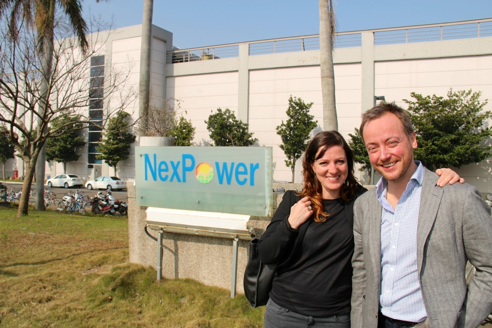 Superbe reception at NexPower in Taichung: How Beautiful BIPV can look! (1/6)
