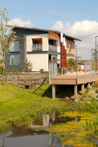 Resource Efficient House by Tigh Grian at BRE Ravenscraig