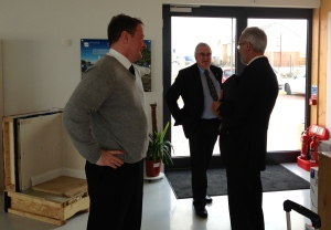 David Kelly, John Reid, BRE Scotland and Robert Cowie, Tigh Grian Ltd