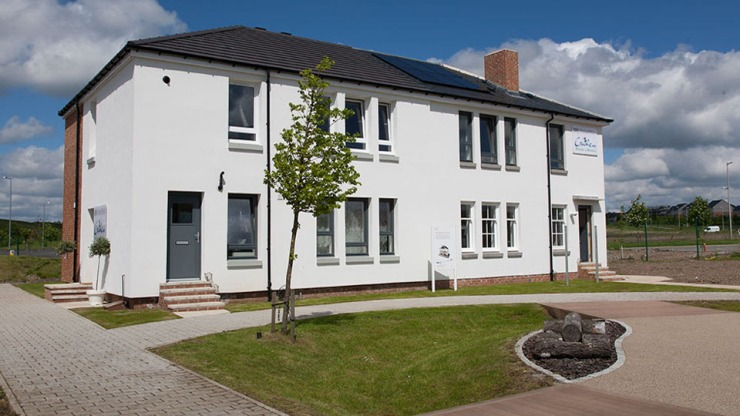The Refurbished House at BRE Ravenscraig