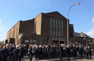 Requiem Mass for Colin Machin at St. Mungo's R.C. Church, Alloa