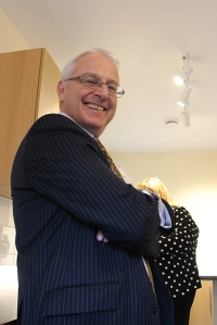 Gordon Campbell's big smile