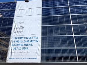 1er mur solaire en Suisse