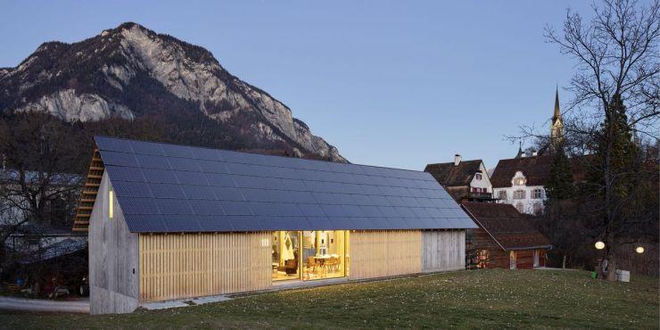 BIPV roof ©Swiss Solar Prize 2017