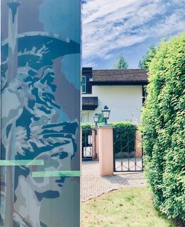 BIPV Column and House entrance pillar